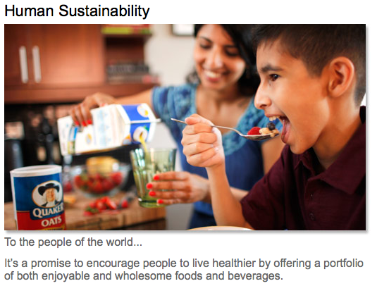 Pepsico is World Class in Giving and Busy Converting Products into Nutritious Ones