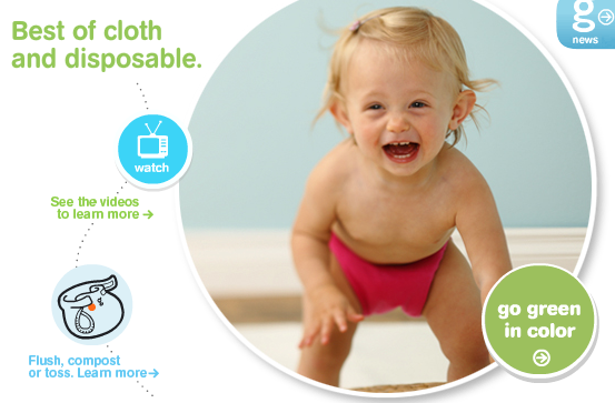 gDiapers Gives Back to the Planet and Reduces Your Family's Footprint