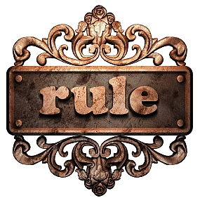 The Only Rule You Need